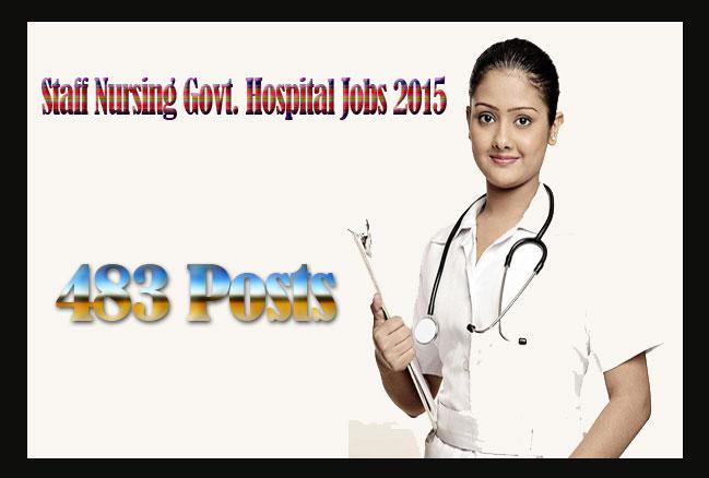 Staff Nursing Govt. Hospital