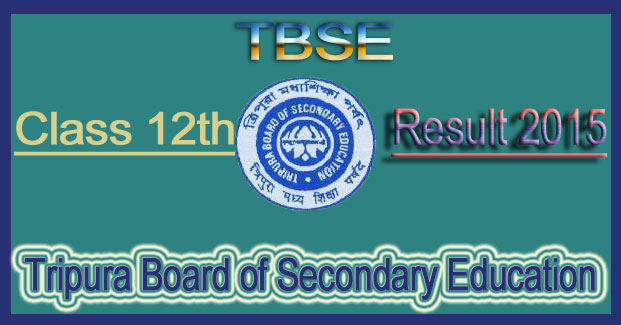 TBSE 12th Result 2015