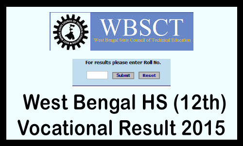 WB 12th Vocational Result
