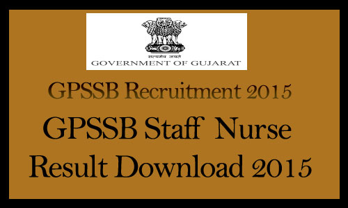 GPSSB staff nurse results 2015