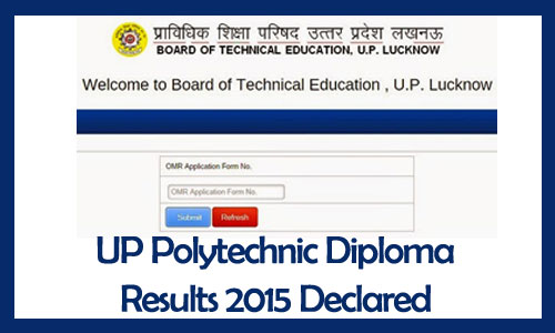 BTEUP polytechnic result 2015