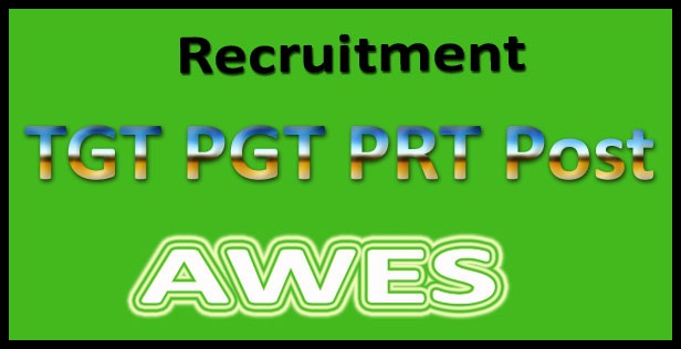 AWES Recruitment 2017