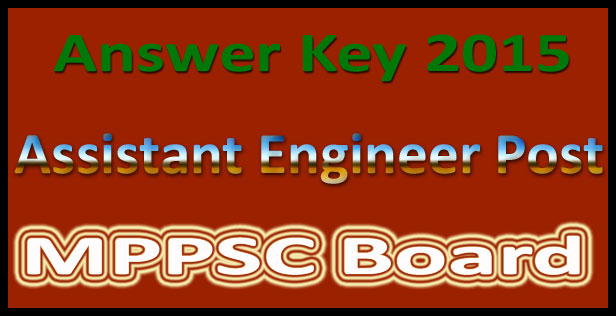 MPPSC AE answer key 2015