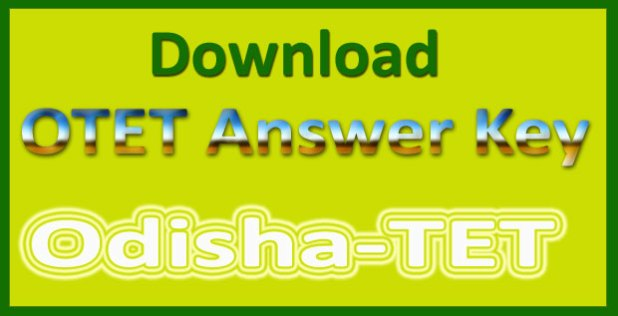 OTET answer key 2015