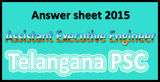 TSPSC AEE answer key 2015