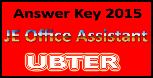 UBTER code 70 answer key 2015