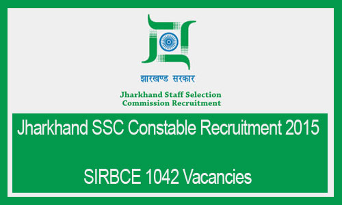 JSSC constable recruitment 2015