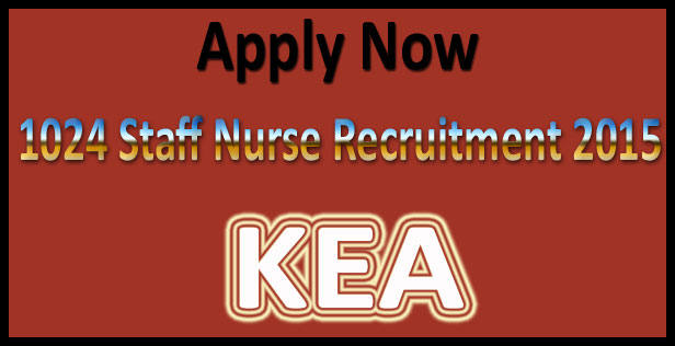Karnataka staff nurse recruitment 2015