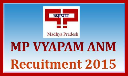 MP ANM vacancy 2015