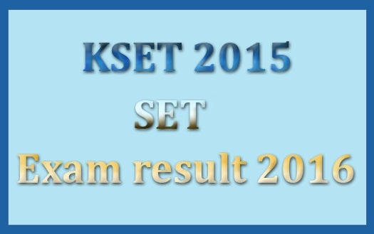 KSET result dec 2015