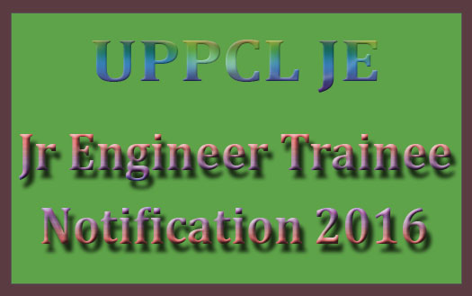 UPPCL JE recruitment 2016