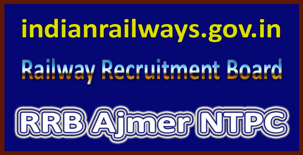 RRB Ajmer admit card 2016