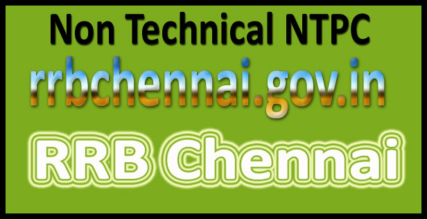 RRB Chennai admit card 2016