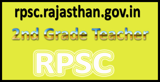 RPSC 2nd grade syllabus 2016