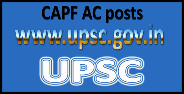 UPSC AC syllabus 2017