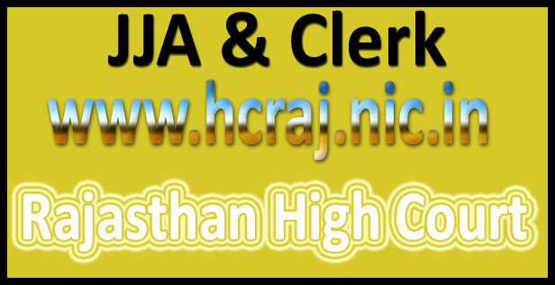Rajasthan high court JJA answer key 2016