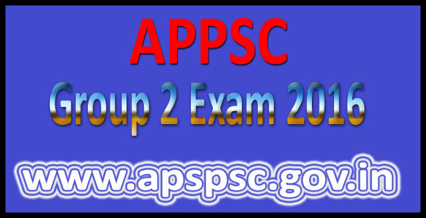 APPSC Group 2 Model Papers 2016
