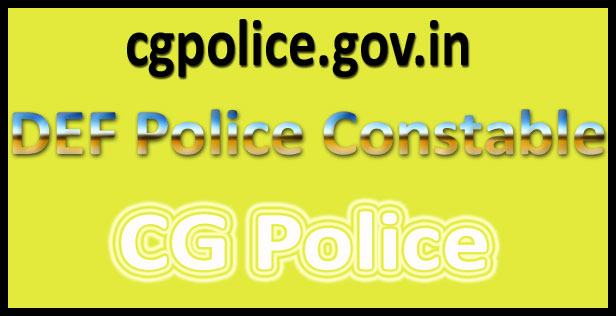Chhattisgarh Police Constable syllabus 2017