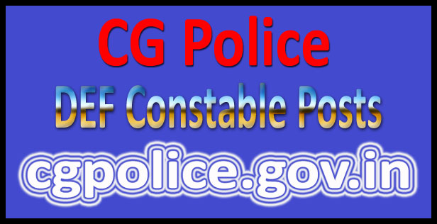 CG police constable Results 2016