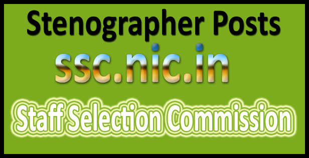 SSC stenographer Result 2016