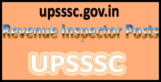 UPSSSC Revenue Inspector answer key 2016
