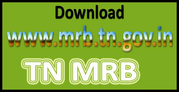 TN MRB Staff nurse recruitment 2017