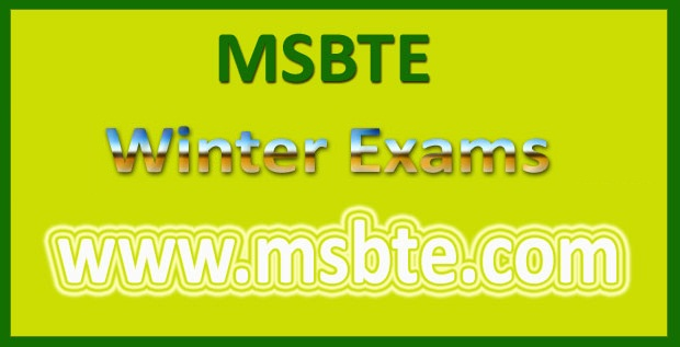MSBTE Timetable Winter 2017