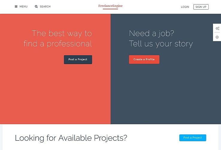 5+ Freelancer WordPress Themes – Site Title