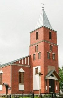 Воропаево — костёл и католический приход Святого Михаила Архангела