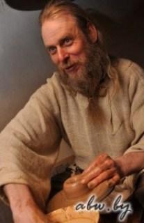 Майстар глінянай цацкі — Сяргей Щэрба
