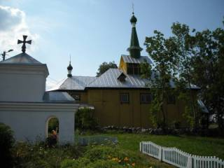Церковь Покрова Пресвятой Богородицы в д.Осиногородок.