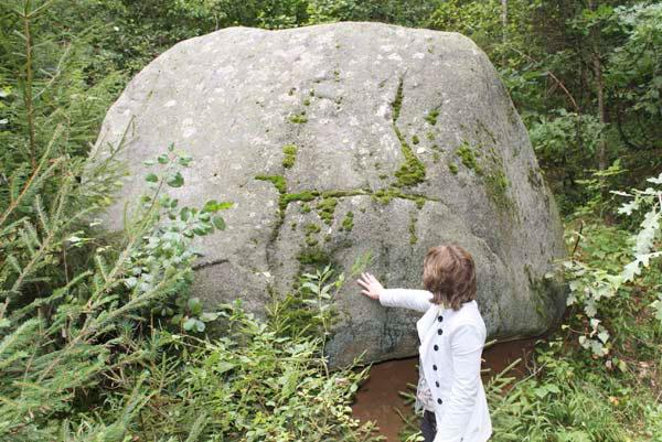 «Чёртов Камень» - легенда