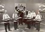«Груздаўскія дзяды» на здымках перадачы «Спяваюць цымбалы» (1976 год)