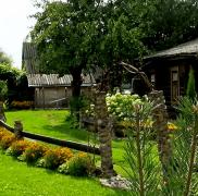 Акрына во дворе