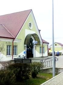 ст. ПОСТАВЫ, здание ж/д вокзала