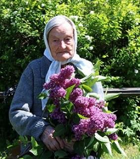 Генавефа Гіляраўна Шчучка з вёскі Дуброўшчына