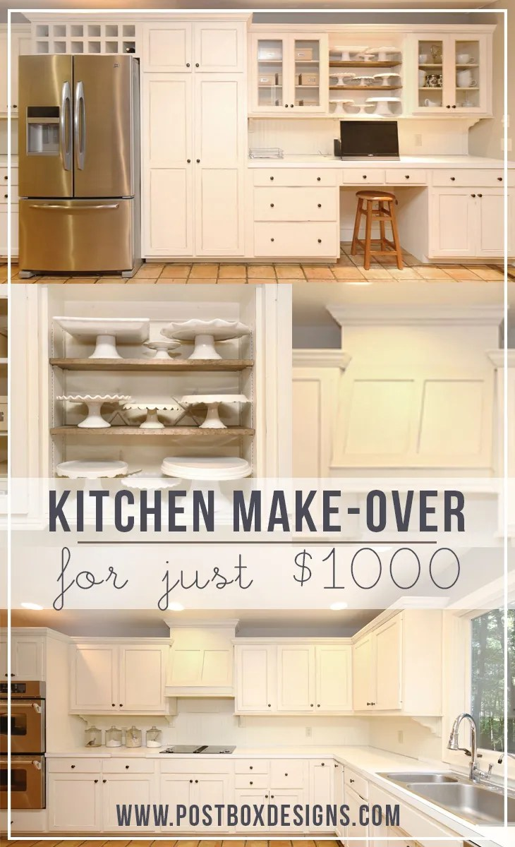 How i remodeled my kitchen for 1000 in 10 steps part 1 postbox designs