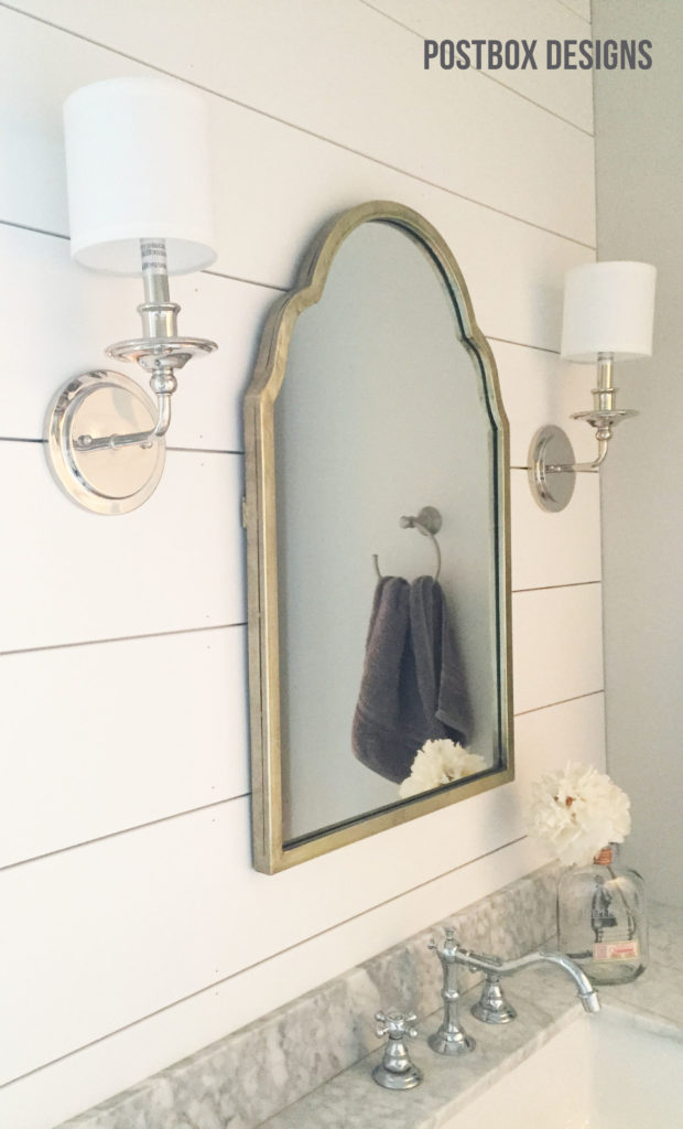 BIG REVEAL! Update a Builder Basic Bathroom - Postbox Designs