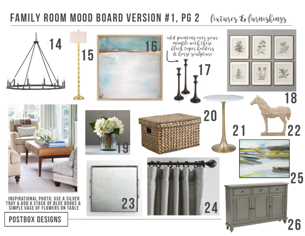 Room Reveal! 5 Tips to Decorate a Family Room with High ...
