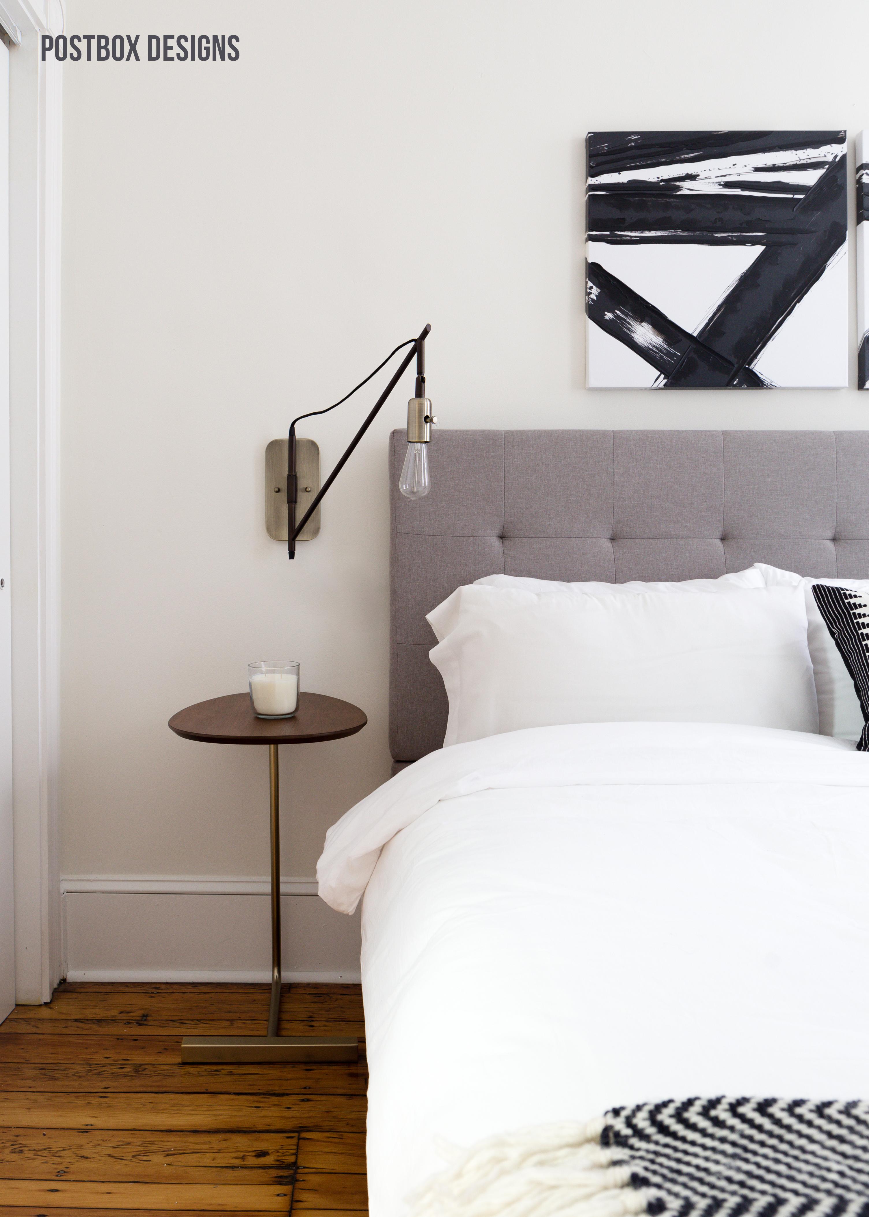 Neutral Modern Boho Bedroom Makeover Reveal: See the ... on Boho Modern Bedroom  id=40572