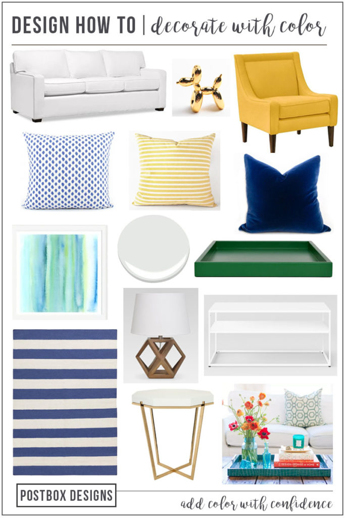 Decorate A Room Online: Decorate-with-color-living-room-makeover-postbox-designs