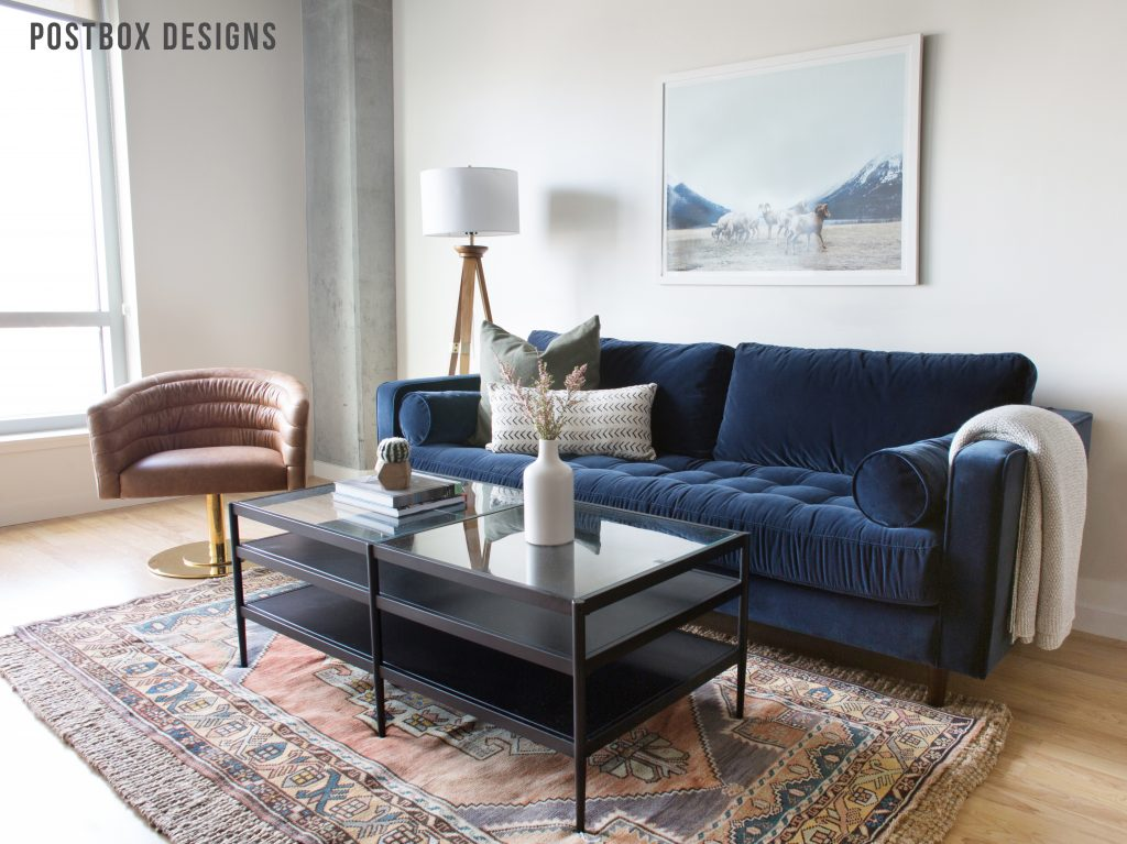 . BIG REVEAL  Small Living Room  Dining Room Makeover  7 Designer