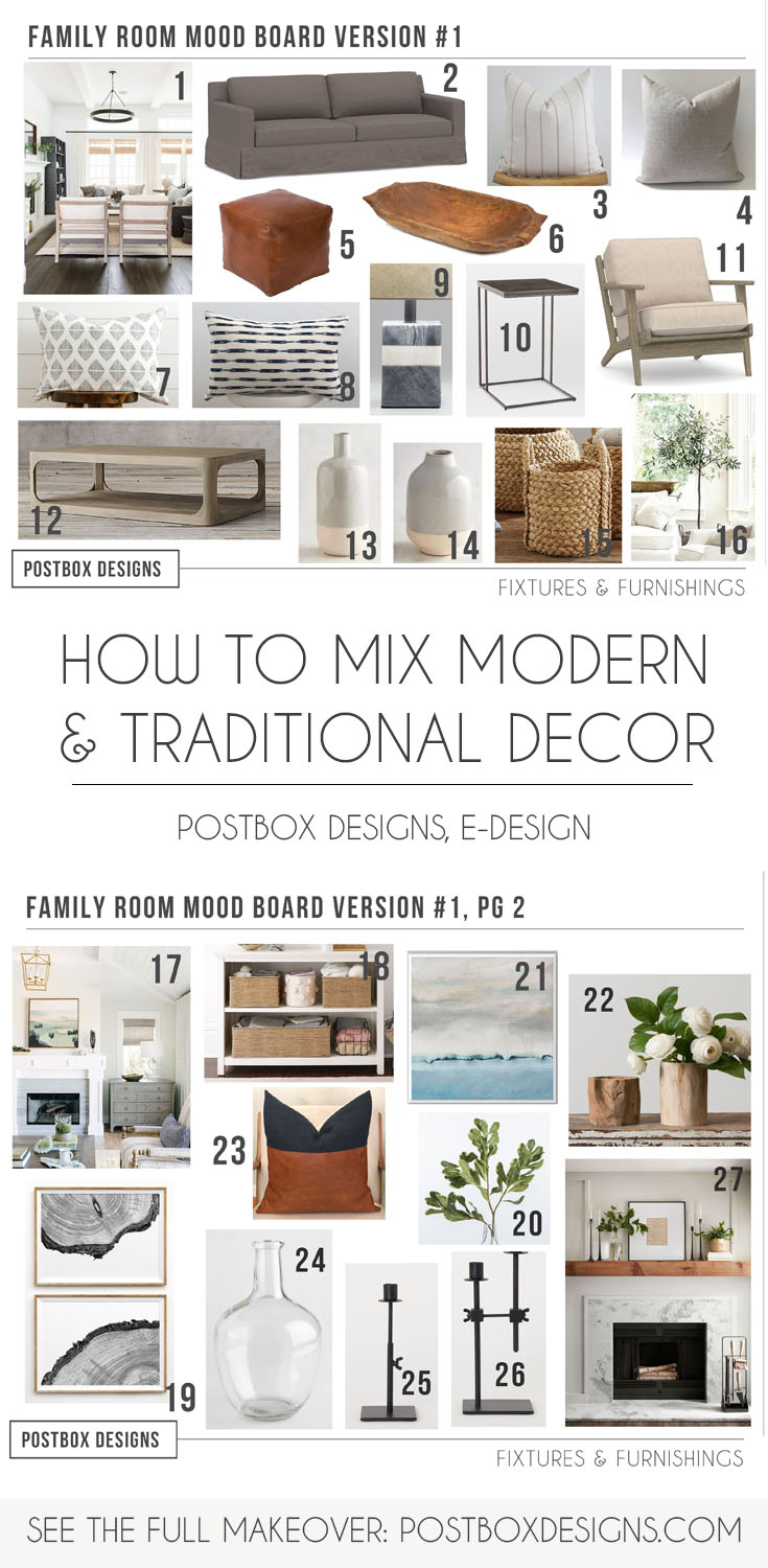 Check Out This Traditional Modern Living Room Design Postbox Designs