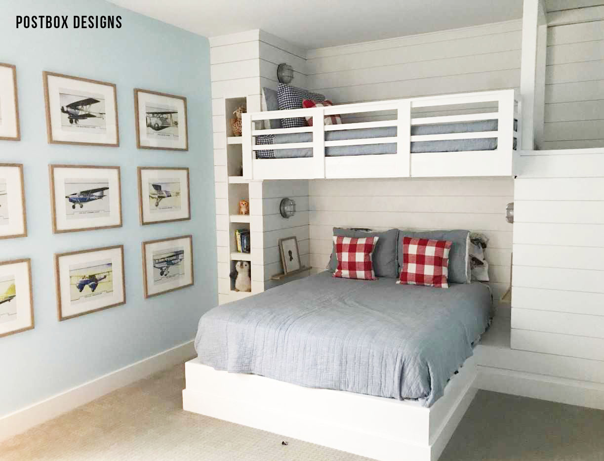 See the Reveal: A Preppy Boy Bedroom Design! - Postbox Designs
