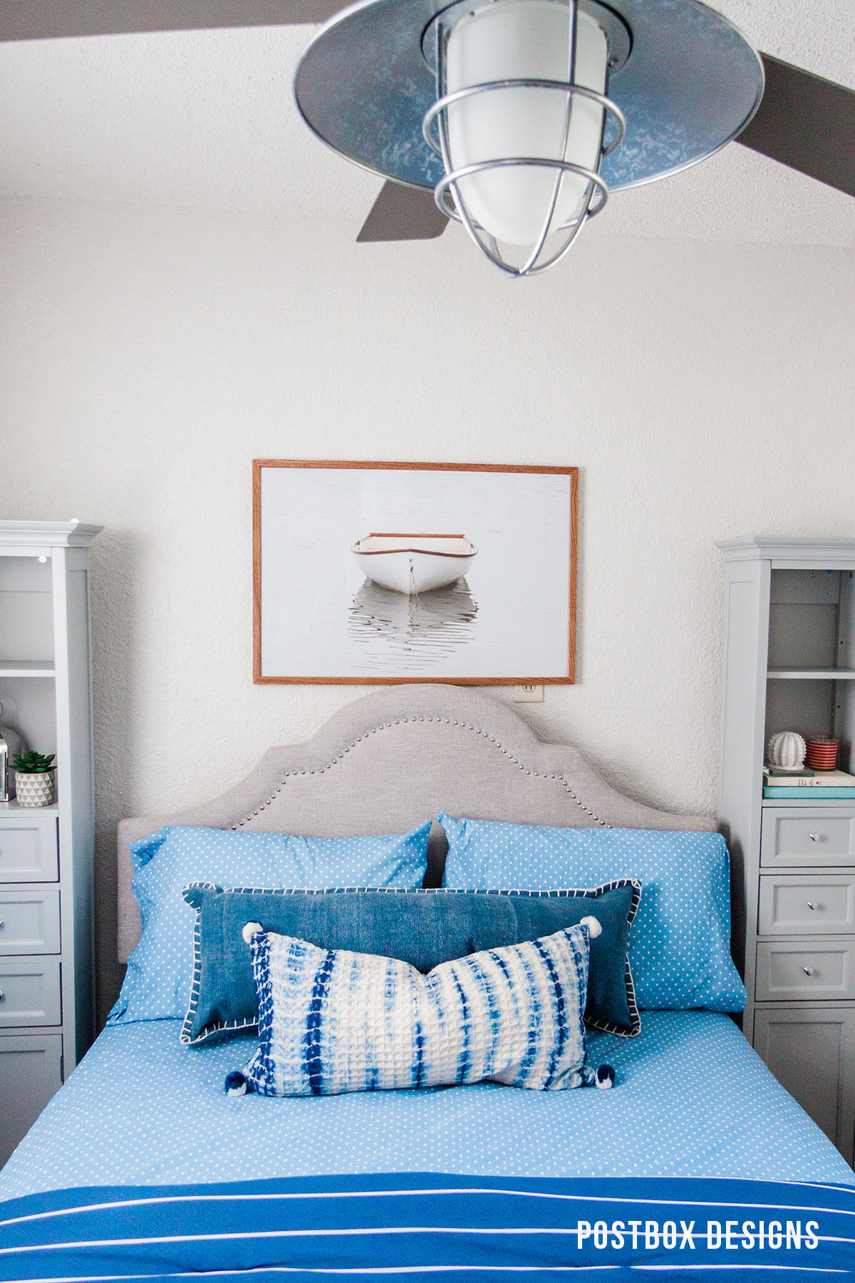 Peek Into My Own Lake House Bedroom Makeover Postbox Designs