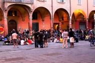 Lunch in piazza Verdi