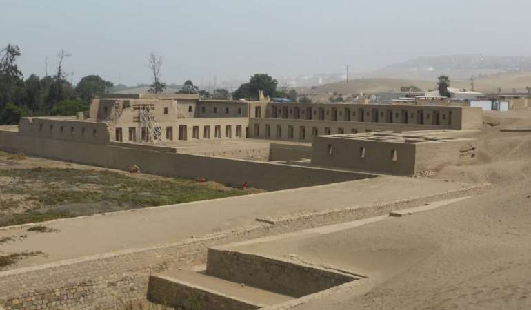 Pachacamac, Lima – dust and deities