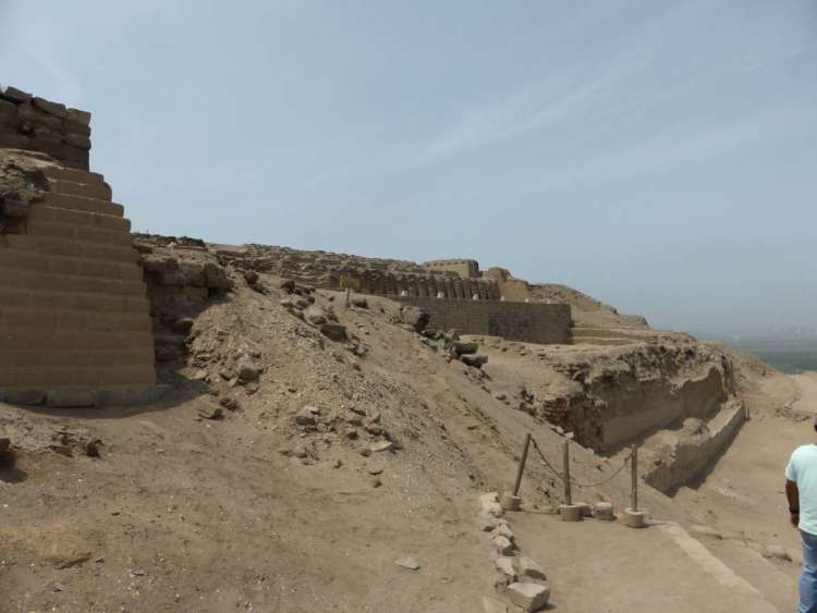 Pachacamac 6 temple of the sun