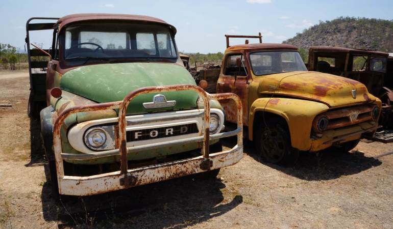 Ford Museum (graveyard), Chillagoe, Queensland
