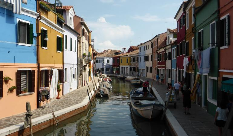 Canals and coloured houses are picturesque